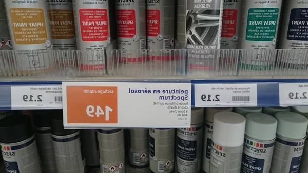 bombe peinture antirouille