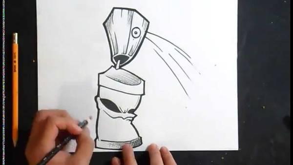 bombe peinture velo