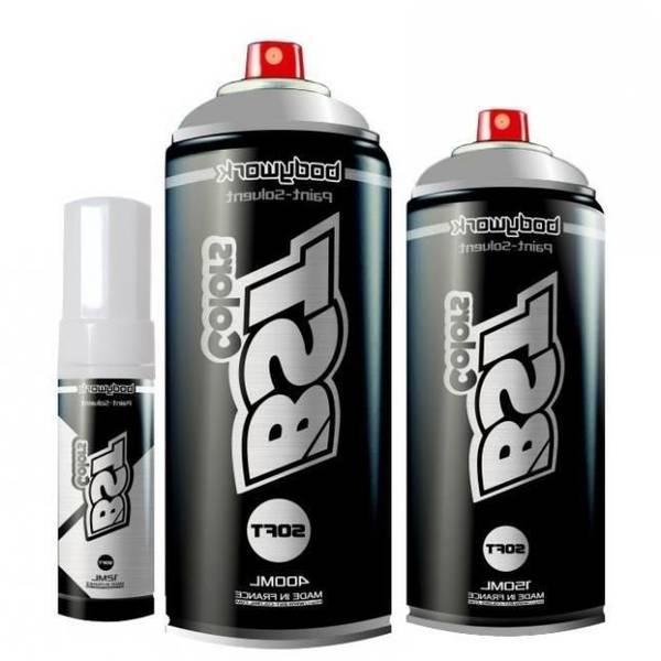 bombe peinture noir mat